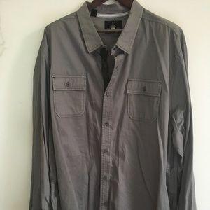 Long-sleeve button-up shirt - 2XLT